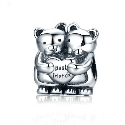 Charm Din Argint 925 - Best Friends